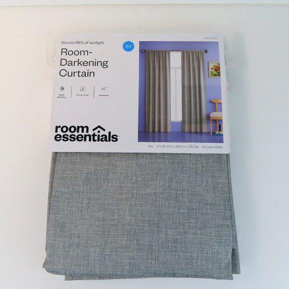 """Darkening Curtain Panel Room Essentials 84"""" x 42"""""""